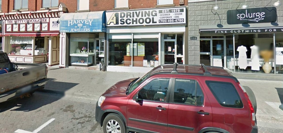 A-1 Driving School Downtown North Bay Street View